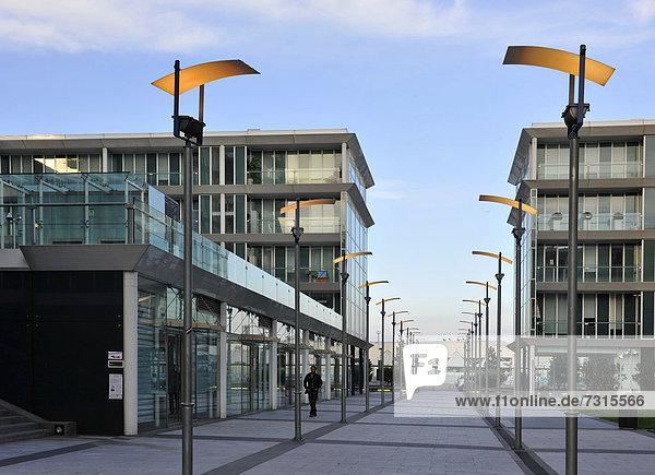 Hafen Gebäude Italien Ligurien modern