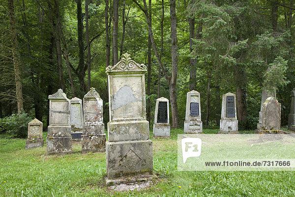 Alter Friedhof  Brodenbach  Landkreis Mayen-Koblenz  Rheinland-Pfalz  Deutschland  Europa