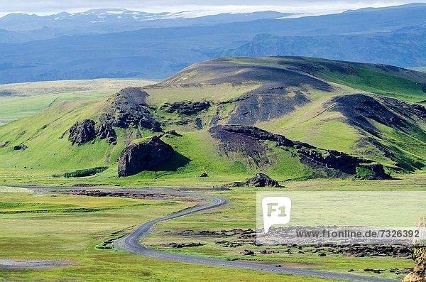 Vík í Mýrdal  Süden  Island