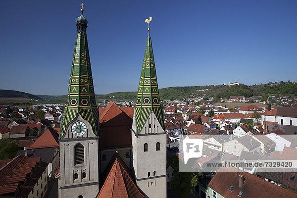 Europa Geschichte Ansicht Bayern Ortsteil Deutschland