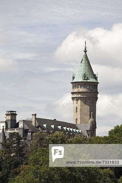 Staatsbank und Sparkasse  Stadt Luxemburg  Luxemburg  Europa  ÖffentlicherGrund