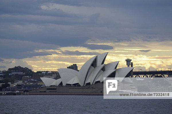 Wohnhaus zeigen Australien New South Wales Oper Sydney Sydney Harbour