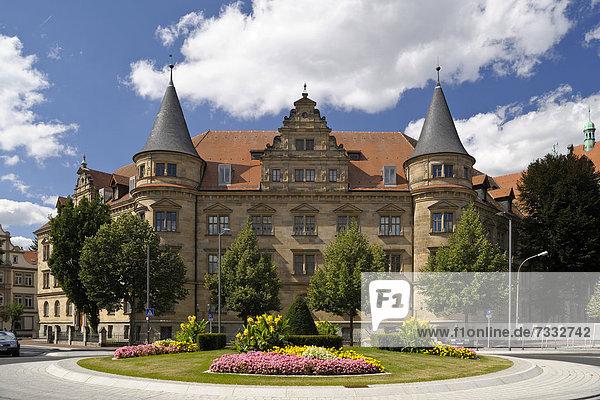 Landgericht Bamberg  Wilhelmsplatz  Bamberg  Bayern  Deutschland  Europa