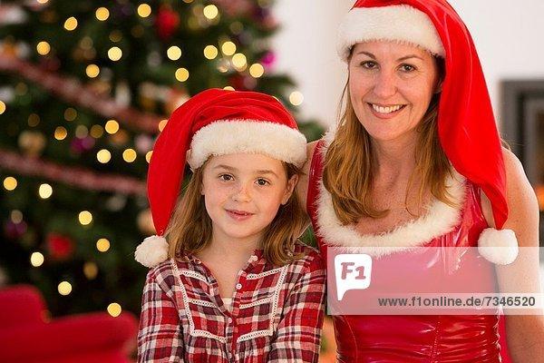 Zeit  Weihnachten  Tochter  Mutter - Mensch