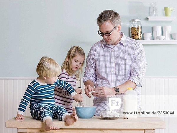 Menschlicher Vater  Produktion  Frühstück