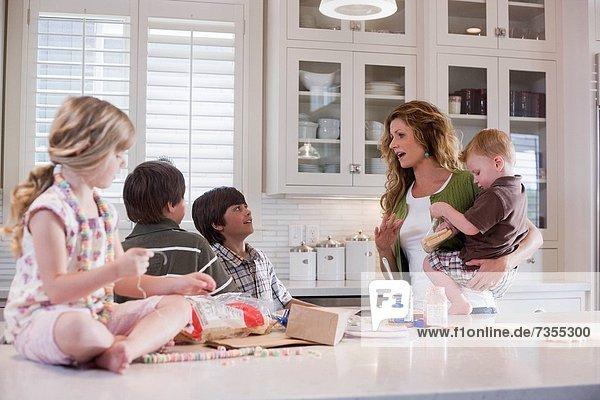 Küche  Mutter - Mensch