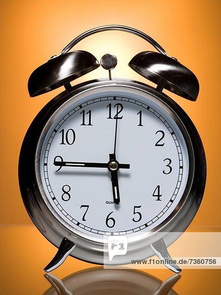 Close_up of an alarm clock