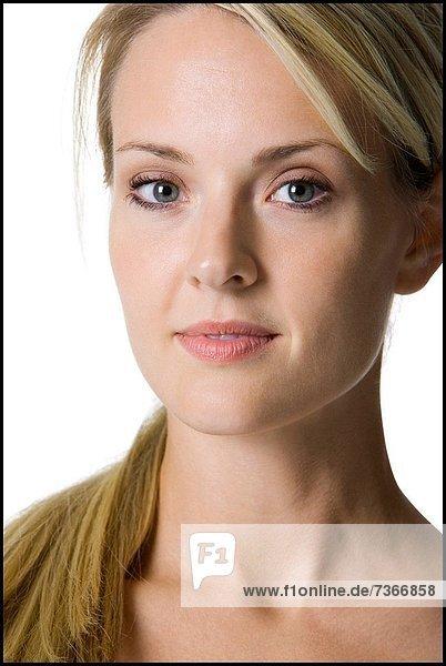 Portrait junger Frau