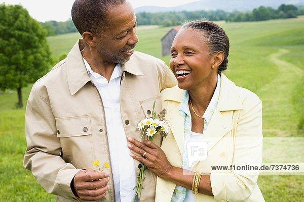 Senior  Senioren  Frau  Mann  lächeln