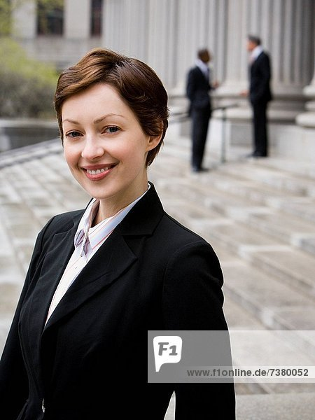 Portrait  lächeln  Anwalt