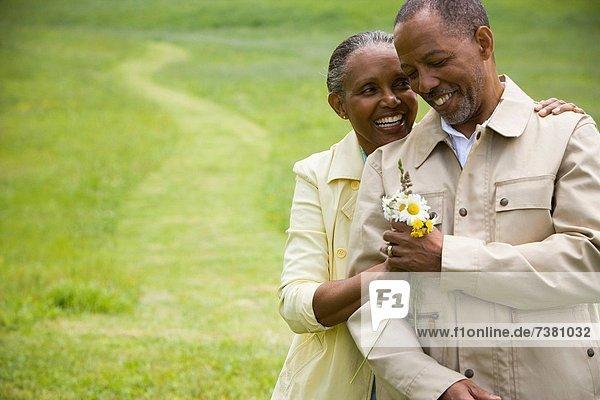 Senior  Senioren  Portrait  Frau  Mann  lächeln
