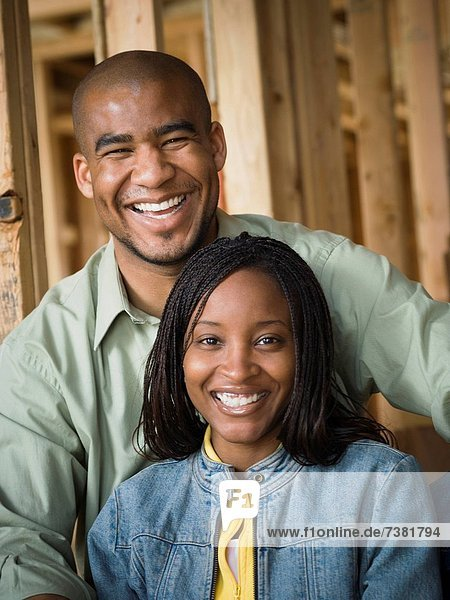 Portrait eines jungen Paares
