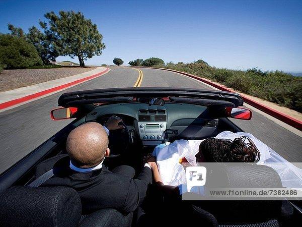 Hochzeit  Auto  Cabrio