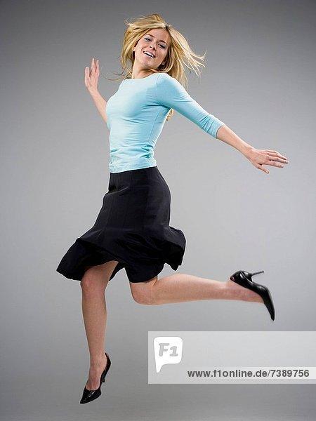 Frau  tanzen  schwarz