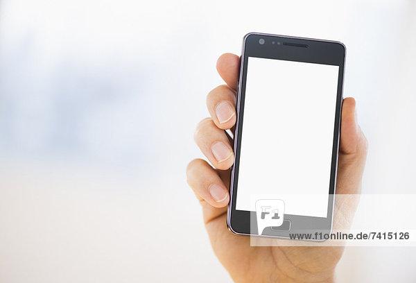 halten  Smartphone