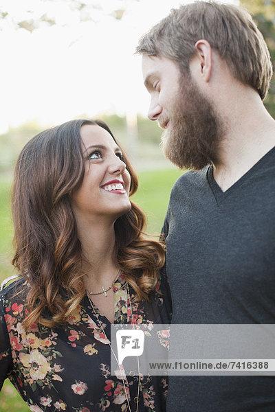 Paar suchen in Augen
