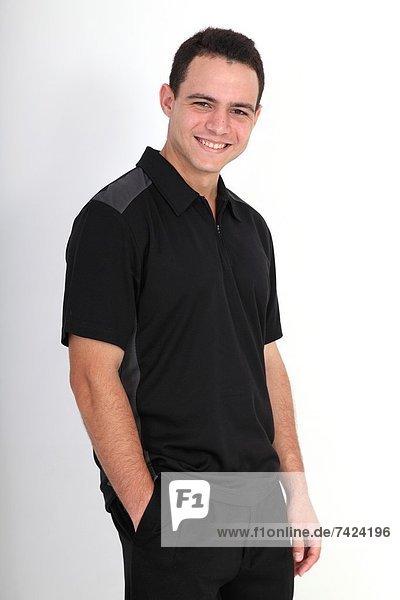 Gesicht eines jungen Mannes