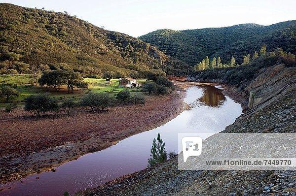 Herrenhaus Europa Sonnenuntergang Landschaft Andalusien Spanien