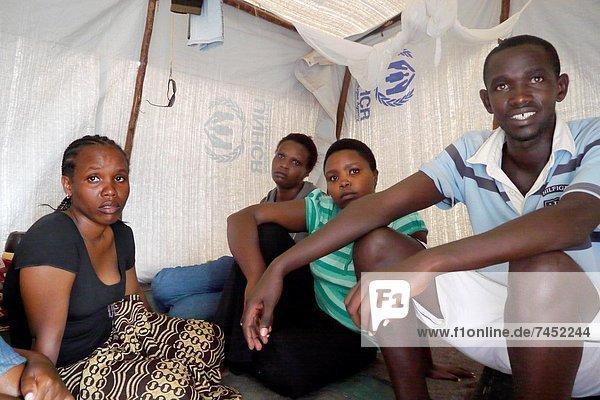 Kenya. Kakuma Refugee Camp  Turkana. Refugees from Burundi.