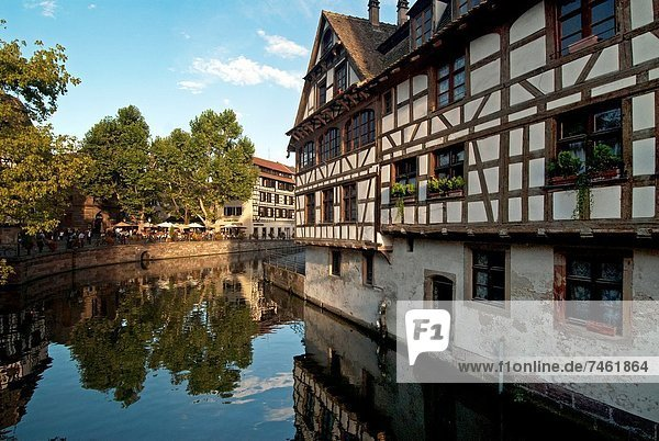 Frankreich Elsass Petite France Straßburg Frankreich,Elsass,Petite France,Straßburg