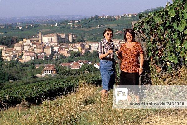 Europa  Pose  Weinberg  Freund  Italien