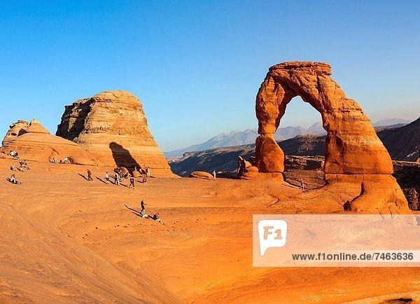 Vereinigte Staaten von Amerika  USA  Delicate Arch  Utah