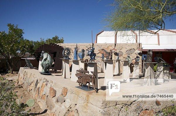 Vereinigte Staaten von Amerika USA Wohnhaus Nordamerika Arizona Persönlicher Freiraum