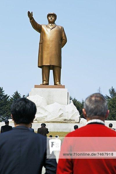 Statue of Kim Il Sung  Hamhung  Democratic People's Republic of Korea (DPRK)  North Korea  Asia