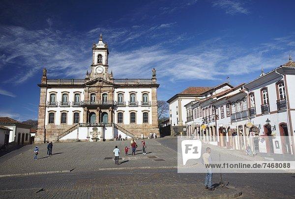 UNESCO-Welterbe  Brasilien  Minas Gerais  Ouro Preto  Südamerika  Tiradentes