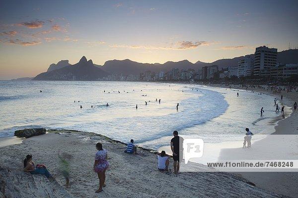 Brasilien  Rio de Janeiro  Südamerika