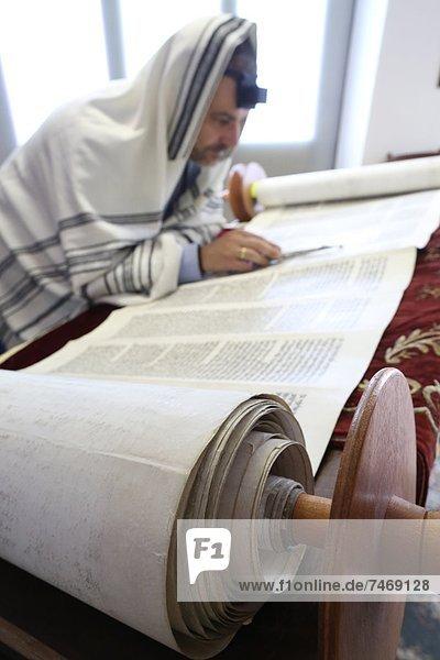 vorlesen Synagoge Tora