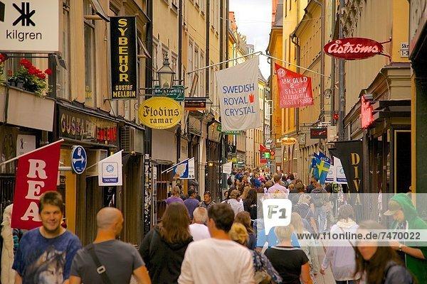 Stockholm  Hauptstadt  Europa  Gamla Stan  Skandinavien  Schweden