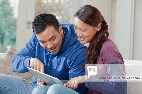 Kopplung mit einem Tablet-Computer