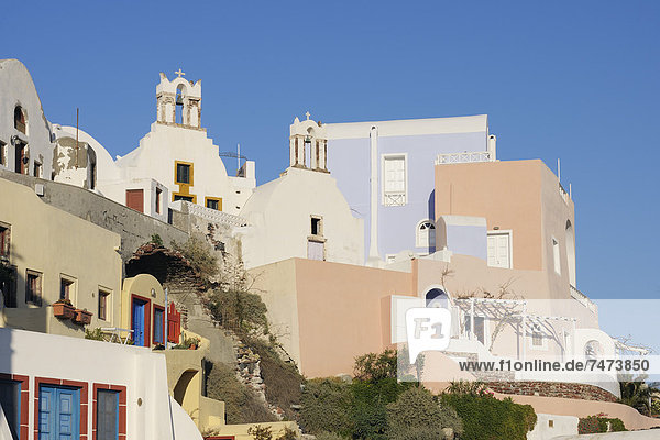 Kykladen Griechenland Griechische Inseln Oia Ia