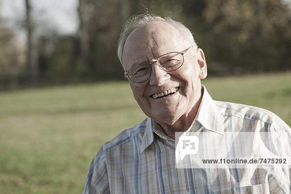 Portrait of Man  Lampertheim  Hesse  Germany