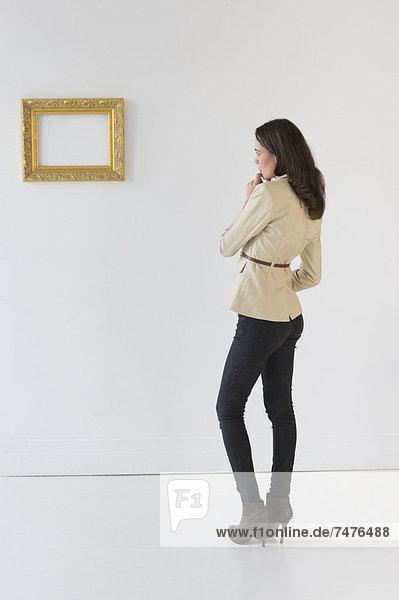 Frau  sehen  Fotografie  Kunst  Galerie