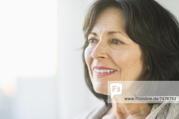 Portrait of ältere Frau