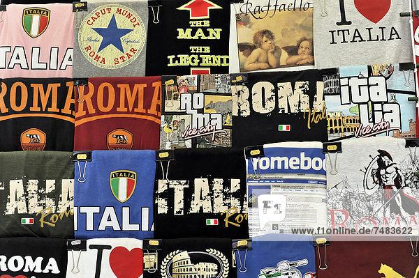 Rom Hauptstadt Europa T-Shirt Souvenir Latium Italien