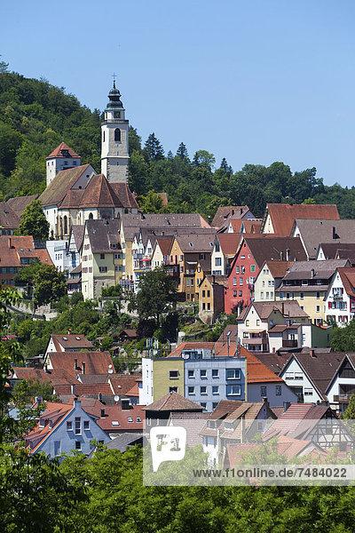 Europa Baden-Württemberg Schwarzwald Deutschland Horb am Neckar