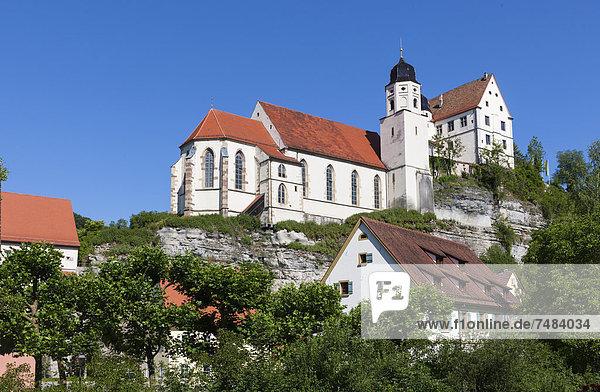 Wallfahrtskirche St. Anna  Haigerloch  Baden-Württemberg  Deutschland  Europa  ÍffentlicherGrund