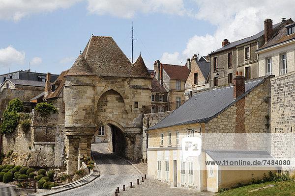 Stadtmauer Rom Hauptstadt Frankreich Europa Fernverkehrsstraße Eingang antik