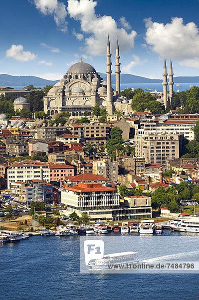 Hügel 3 Goldenes Horn Istanbul Türkei