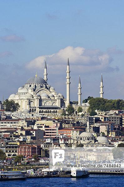 Naher Osten Istanbul Moschee Türkei
