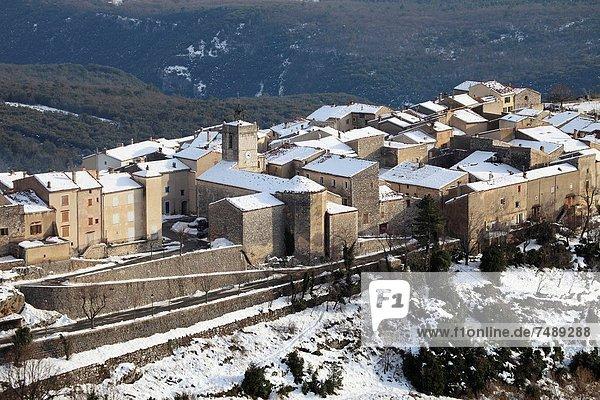 Medieval village of Mons  Var  83  Provence  PACA  France.