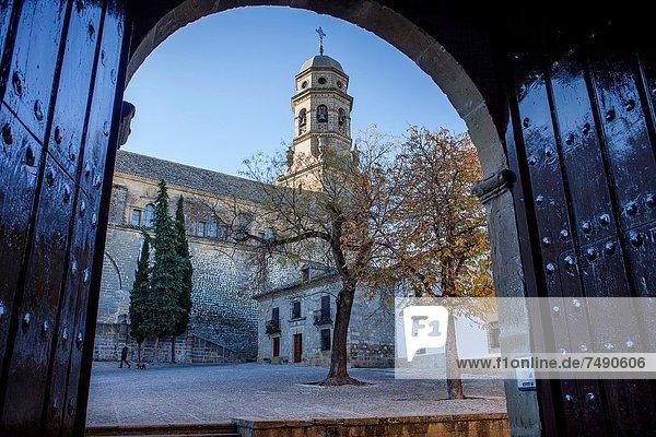 Kathedrale  Quadrat  Quadrate  quadratisch  quadratisches  quadratischer  Spanien