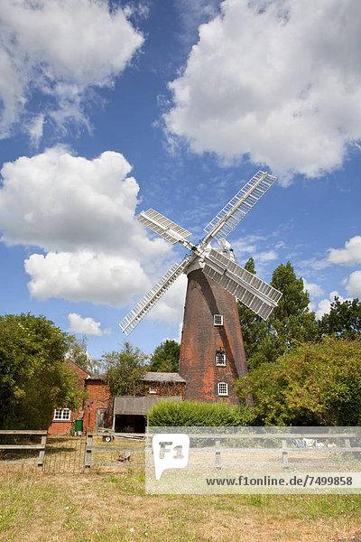 Woodbridge  arbeiten  Mühle  reparieren  bauen  schreiben  Grad Celsius  England  Ordnung  Suffolk