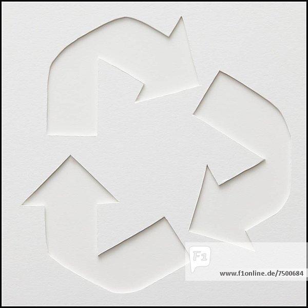 Recycling-Symbol Recycling-Symbol