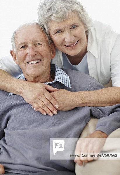 Affectionate älteres Paar