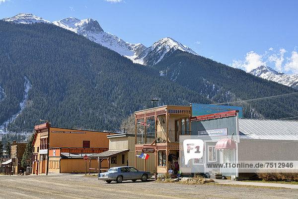 Vereinigte Staaten von Amerika USA Colorado Silverton