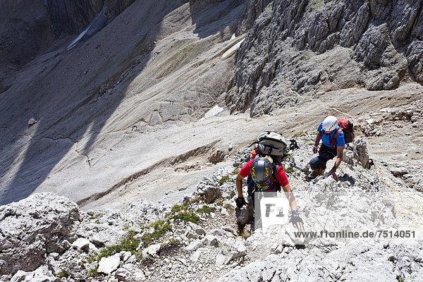 Klettersteig Plattkofel : Dolomiten europa iblles italien klettersteig südtirol